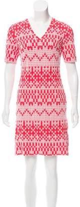 Yoana Baraschi Matelassé Mini Dress