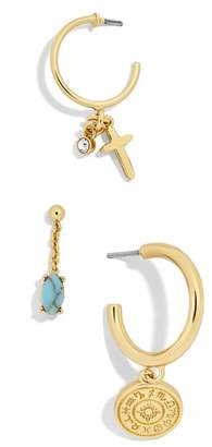 BaubleBar Perseus Set of 3 Huggies/Stud Earrings