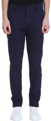 Calvin Klein Jeans Slim Blue Cotton Pants
