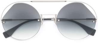 512bfc7817 Fendi Silver Sunglasses For Women - ShopStyle UK