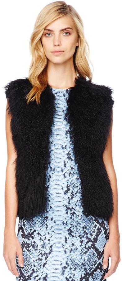 Michael Kors Lamb-Fur Vest