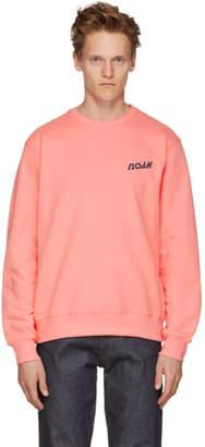Noah NYC Pink Deep Sea Sweatshirt