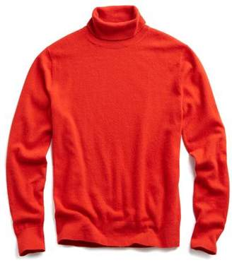 Todd Snyder Cashmere Turtleneck in Red