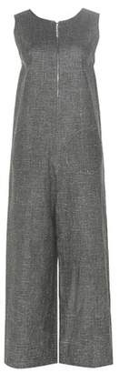 Isa Arfen Linen-blend jumpsuit