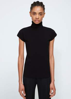 Issey Miyake A-POC Short Sleeve Cotton Top