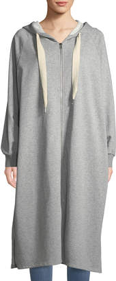 Junie French Terry Hooded Duster Dress