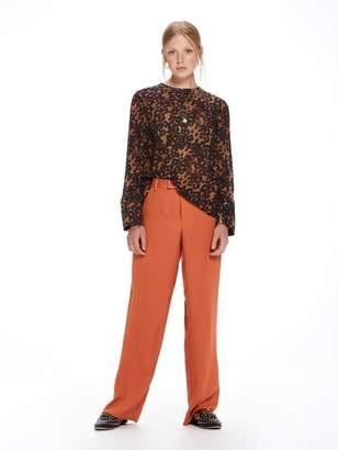 Scotch & Soda Wide Leg Draped Pants