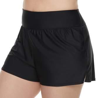 Croft & Barrow Plus Size Swim Shorts