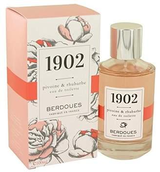 Berdoues 1902 Pivoine & Rhubarbe by Eau De Toilette Spray 3.38 oz