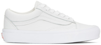 Vans White OG Old Skool LX Sneakers