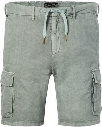 Scotch & Soda Cotton-Linen Cargo Shorts Regular length