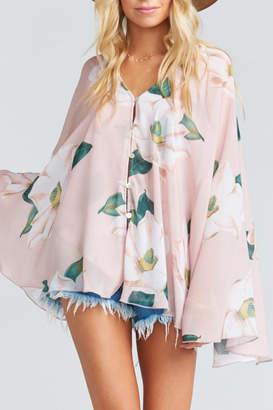 Show Me Your Mumu Butterfly Tunic