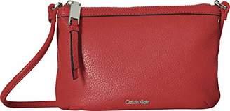 Calvin Klein Women's Small Pebble Leather Crossbody