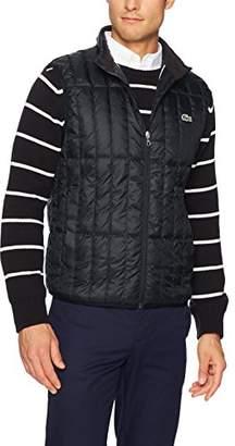 Lacoste Men's Light Down Packable Sleeveless Jacket