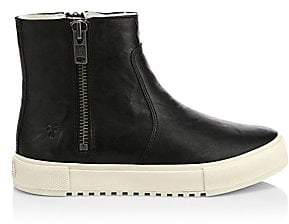 Frye Women's Gia Shearling-Lined Leather High-Top Boots