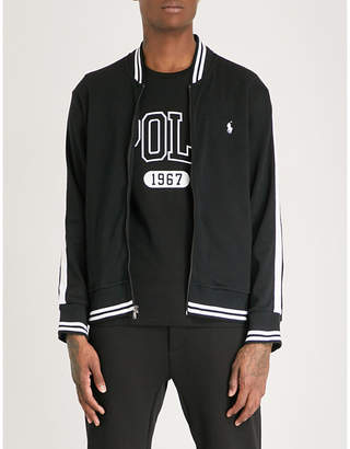 Polo Ralph Lauren Logo-embroidered cotton-jersey track jacket