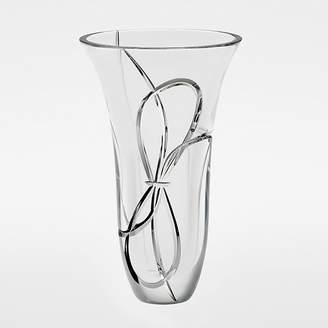 """Vera Wang for Wedgwood """"Love Knots"""" Vase, 10"""""""