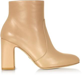 Stuart Weitzman Adobe Nappa Leather Nell 80 Boots