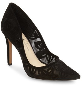 Women's Jessica Simpson Charese Pointy Toe Pump $88.95 thestylecure.com