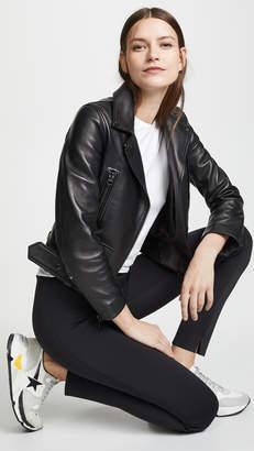 Acne Studios Leather Mock Jacket