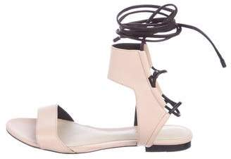 3.1 Phillip Lim Leather Lace-Up Sandals