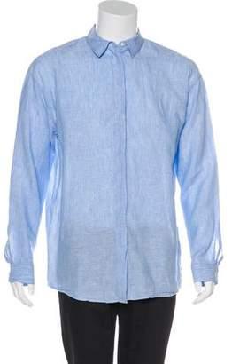 Acne Studios Oversize Bela Li Sh Linen Shirt