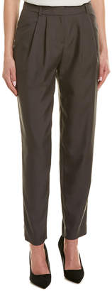 Lafayette 148 New York Pleated Ankle Pant