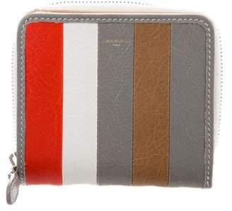 Balenciaga Textured Leather Wallet