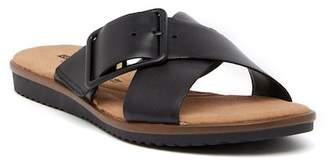 Clarks Kele Heather Leather Sandal