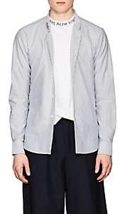 Acne Studios Men's Ohio Face Cotton Shirt - Pink