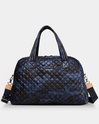 MZ Wallace Dark Blue Camo Jim Bag