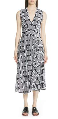 Zero Maria Cornejo Circle Fil Coupe Dress