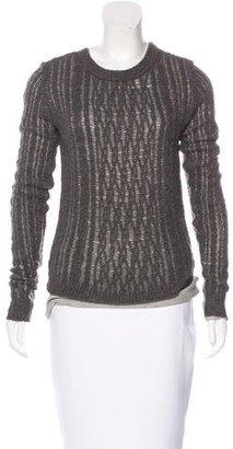 Inhabit Knit Long Sleeve Sweater $85 thestylecure.com