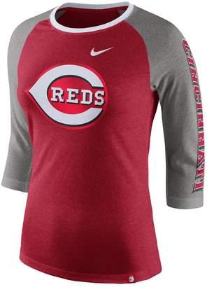 Nike Women's Cincinnati Reds Triblend Tee