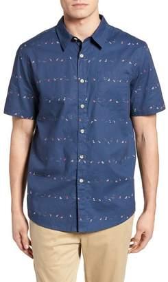 O'Neill Jack Single Fin Regular Fit Short Sleeve Sport Shirt