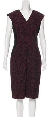 HUGO BOSS Boss by Tweed Midi Dress