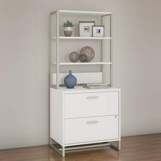 Kathy Ireland Office by Bush Method 2-Drawer Vertical Filing Cabinet Office by Bush