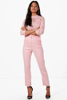 boohoo Boutique Crop & Trouser Co-ord Set