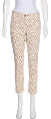 MICHAEL Michael Kors Mid-Rise Straight-Leg Pants