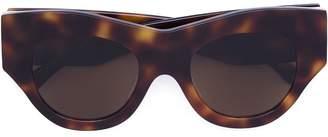 Vera Wang thick cat eye sunglasses