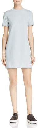 Cheap Monday Collage Denim Cutout Dress $100 thestylecure.com