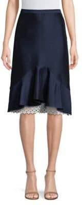 Draper James Lace Flounce Skirt