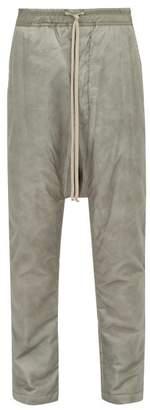 Rick Owens Drawstring Track Pants - Mens - Grey