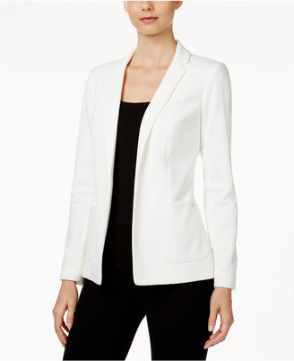 Calvin Klein Open-Front Jacket $119 thestylecure.com