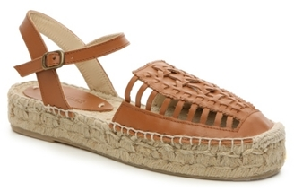 Soludos Leather Flatform Sandal $159 thestylecure.com
