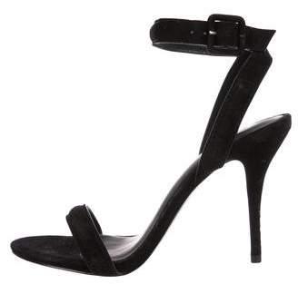 c6f470ea7 Alexander Wang Black Ankle Buckle Women's Sandals - ShopStyle