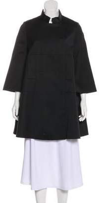 Alexander McQueen Wool Short Coat