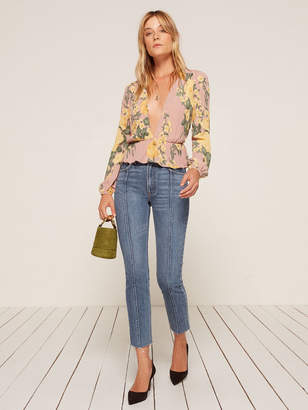 Reformation Seamed Jean
