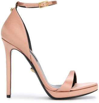 Versace open-toe pumps