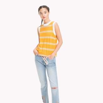 Tommy Hilfiger Retro Stripe Muscle T-Shirt